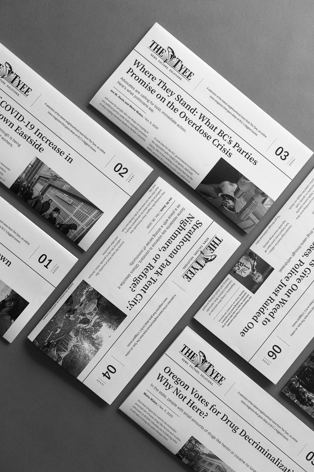 The Tyee printed DTES neighbourhood Newsletter | by www.alicia-carvalho.com