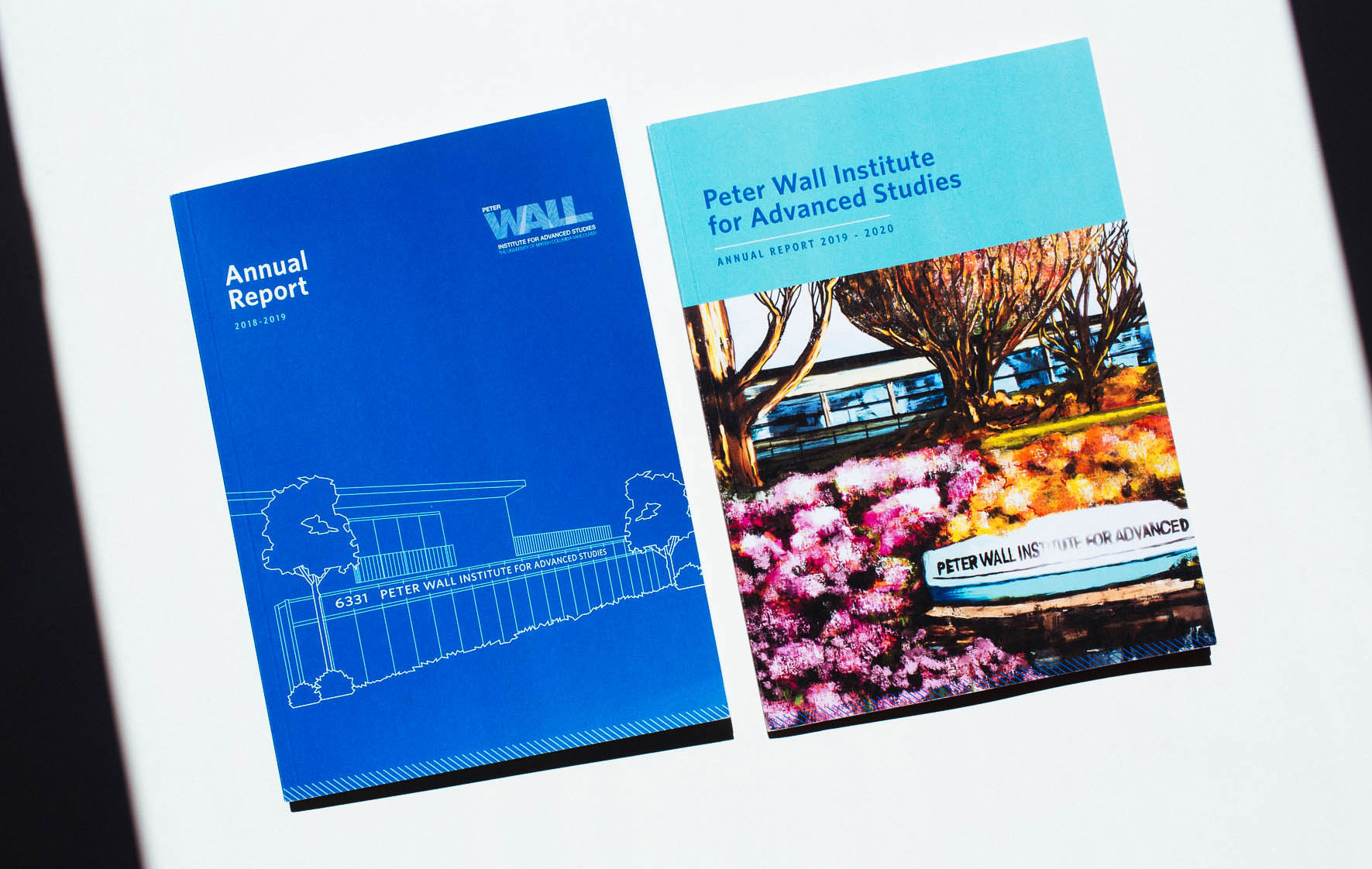 Peter Wall Institute for Advanced Studies printed Annual Report Cover Designs | www.alicia-carvalho.com