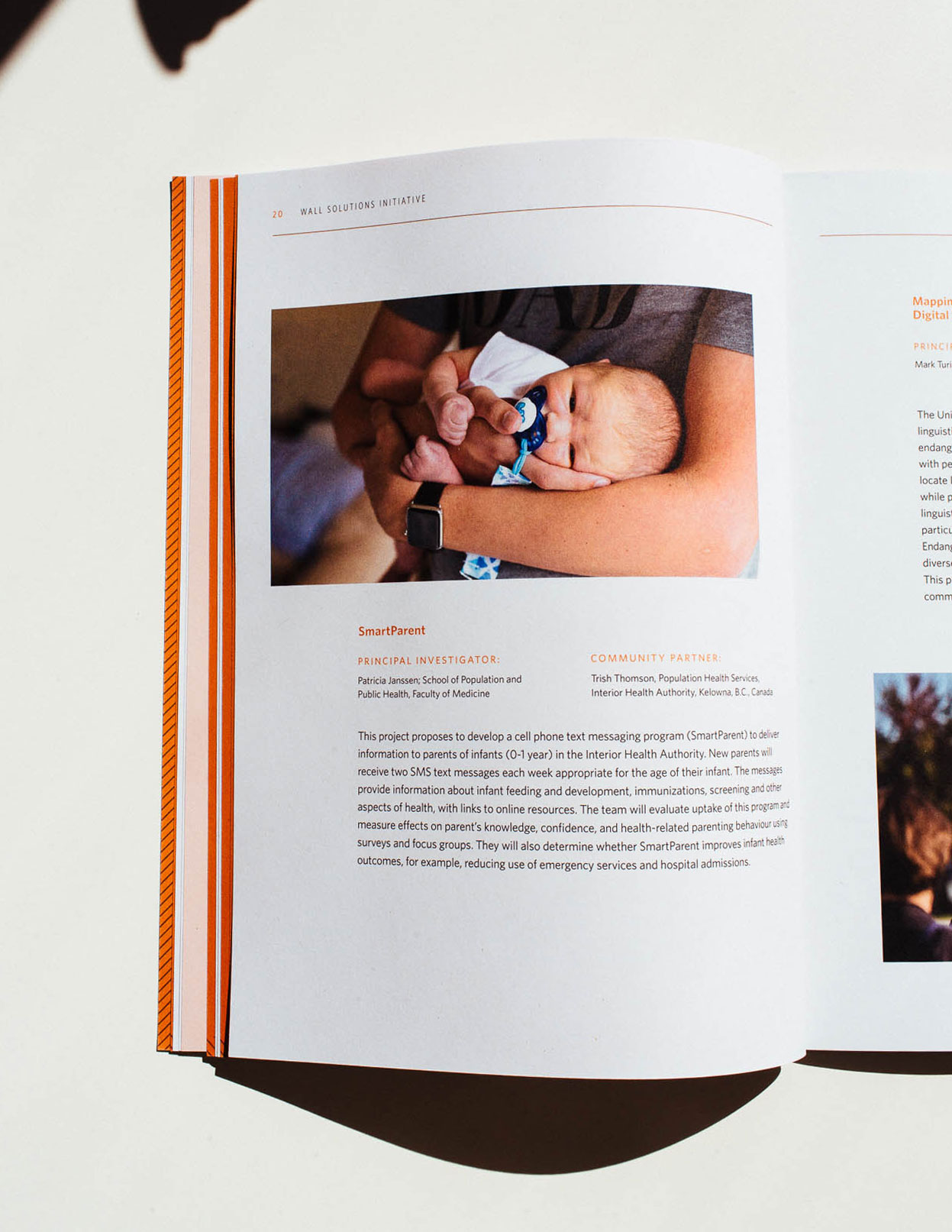 Wall Solutions Initiative Stories, Peter Wall Institute for Advanced Studies printed Annual Report | www.alicia-carvalho.com