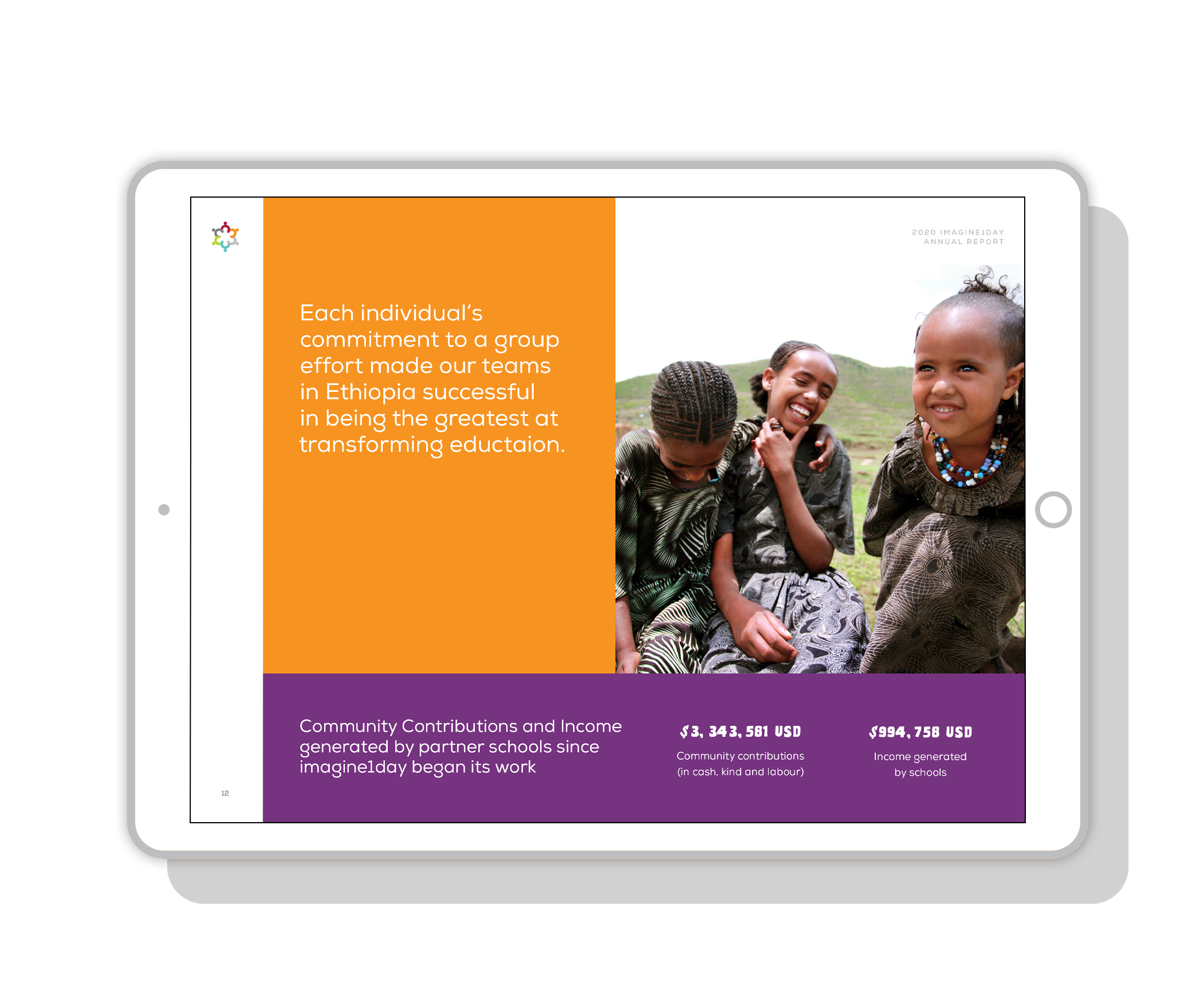 imagine1day digital Annual Report, community contributors   www.alicia-carvalho.com