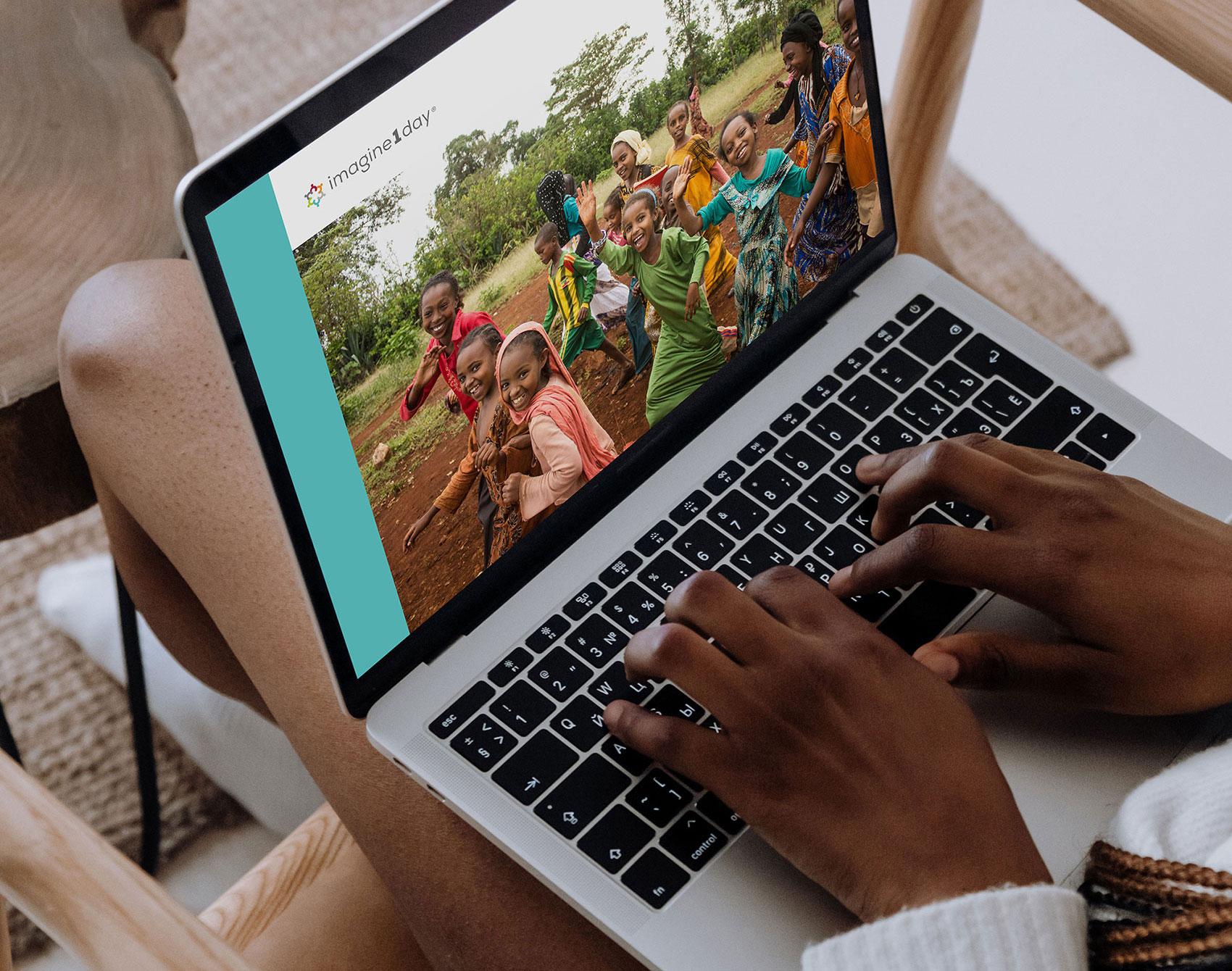 imagine1day digital Annual Report   www.alicia-carvalho.com